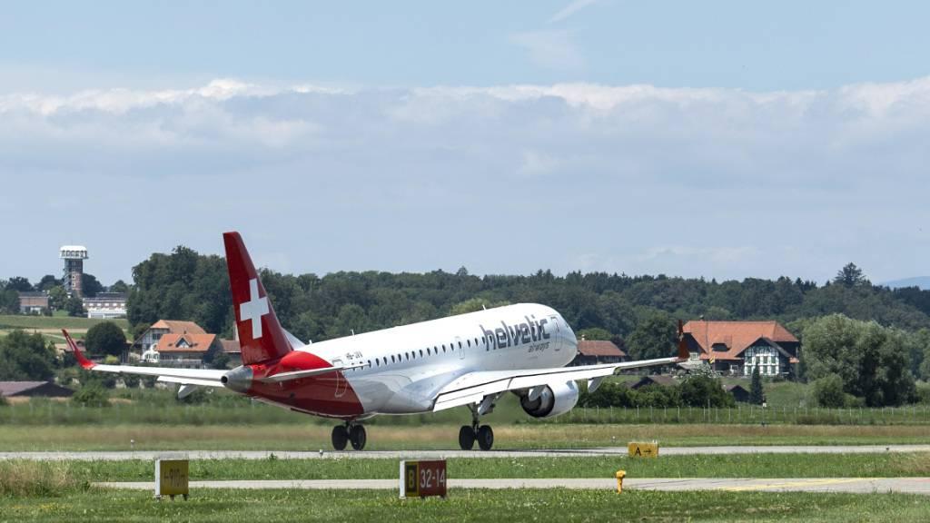 Helvetic Airways fliegt neu ab Basel