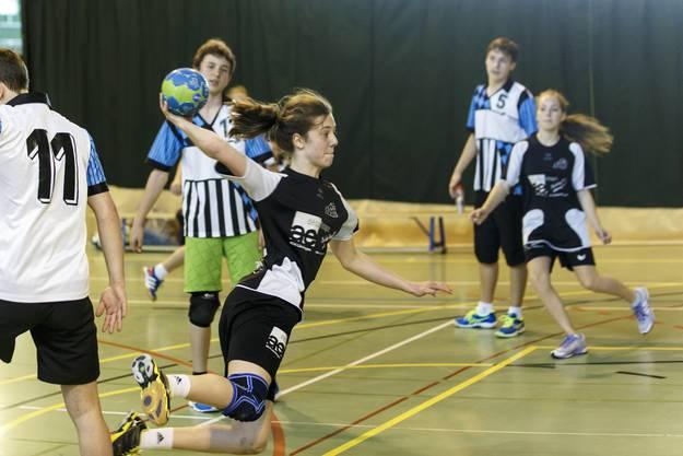 Die CIS-Halle war auch Durchführungsort des kantonalen Schulsporttages.