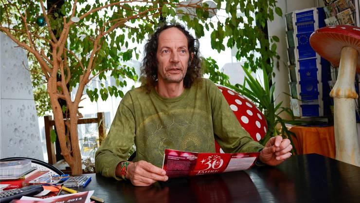 «Es gibt einen Wildwuchs an illegalen Produkten» - Roger Liggenstorfer. (Archiv)