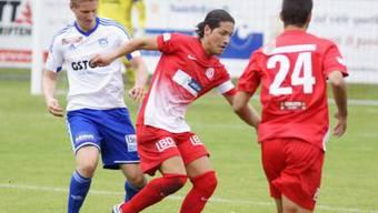 Der FC Dietikon trat von Rang 11 gegen die auf Rang 6 platzierten Gossauer an.