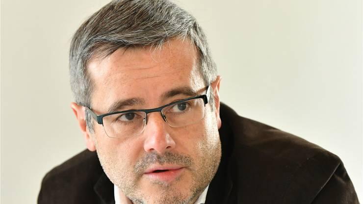 Stadtrat und Doppelverwaltungsrat Benvenuto Savoldelli.