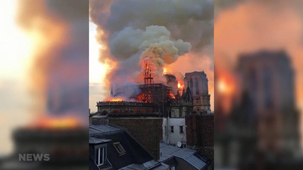 Inferno in Notre-Dame: Paris ist schockiert