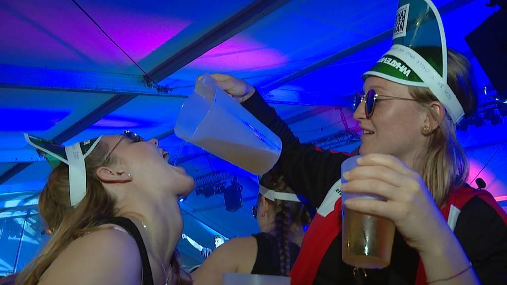 Nachts am ETF: Turner werden zu Partytieren