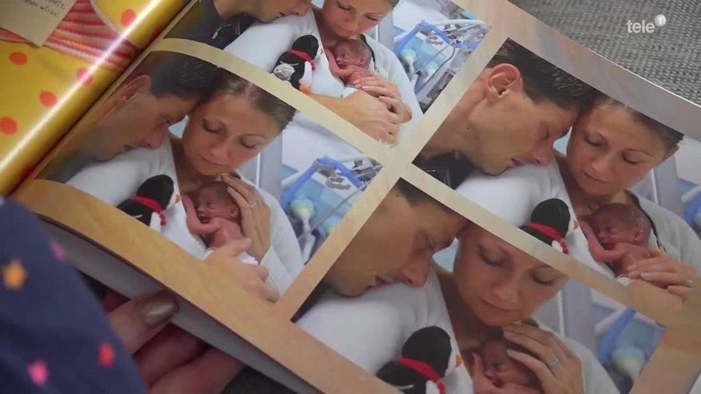 Fotograf schenkt Eltern ein letztes Foto mit ihren Kindern