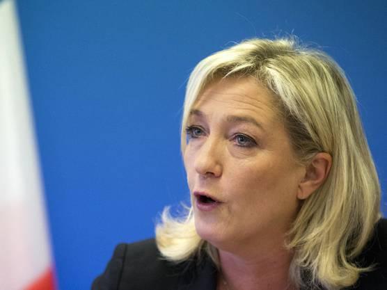 Marine Le Pen, Tochter von Jean-Marie Le Pen und FN-Chefin.