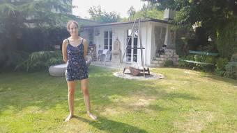Schmuckes kleines Hüttlein im Garten der Eltern von Dominique Dussling (20)