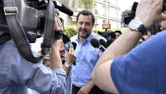 Lega-Chef Matteo Salvini will bei der Regierungsbildung nicht nachgeben