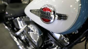 US-Präsident Trump lobte Harley-Davidson dafür, Arbeitsplätze in dem Vereinigten Staaten zu halten. (Archiv)
