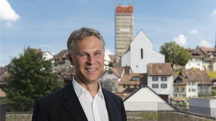 Christoph Weber-Berg (49), Pfarrer, Wirtschaftsethiker. Er predigt am heutigen Reformationstag um 9.30 Uhr in der Reformierten Kirche Gränichen.