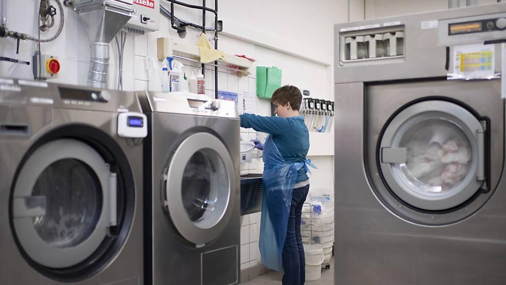 Für den Ausbau ihrer Wäscherei soll die Stiftung Behindertenbetriebe Uri vom Kanton Geld erhalten. (Symbolbild)