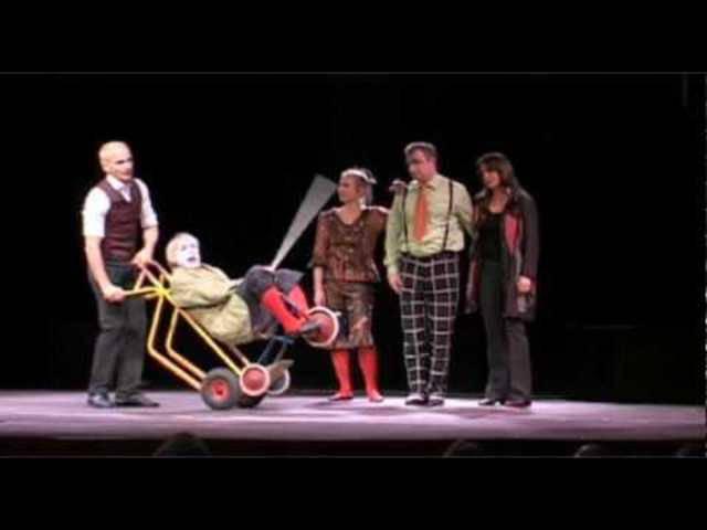 La Famiglia Dimitri bei «Das Zelt» im Jahr 2010.