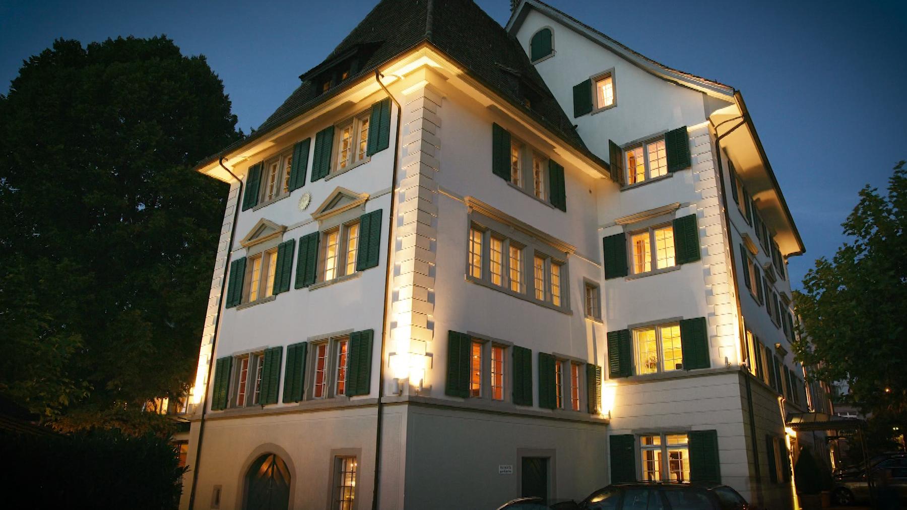 Winterzauber im Romantik Seehotel Sonne in Küsnacht am Zürichsee.