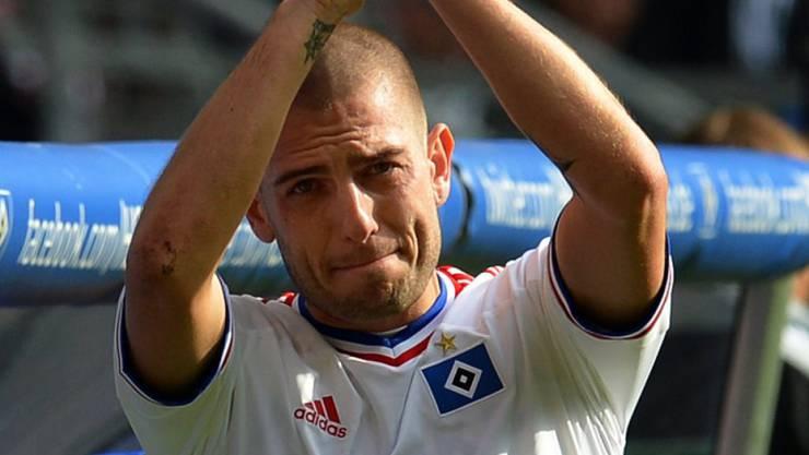 Sagt Good bye: Mladen Petric (hier im Trikot des HSV) beendet seine Profikarriere. (Archivbild)