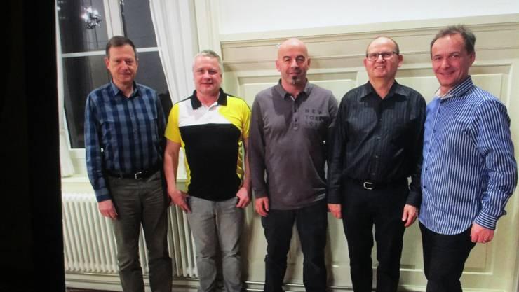 Vorstand der Männerriege Weiningen