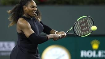 Nach 14-monatiger Babypause zurück auf dem Tennis-Court: Serena Williams