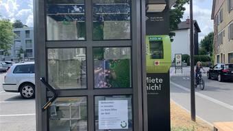 Teleonkabinen neu gestaltet Lenzburg 2019