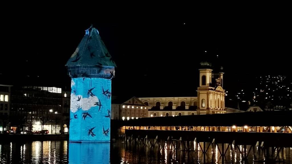 In diesem Licht hat man Luzern noch nie gesehen