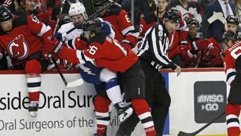 Die New Jersey Devils bringen Tampa Bay ins Streicheln