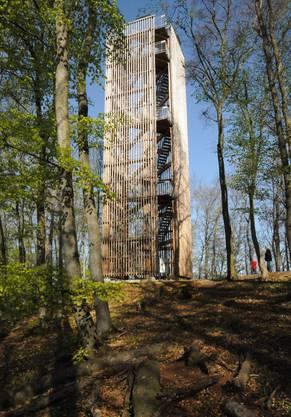 Der 2010 eröffnete Cheisacherturm