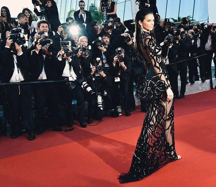 Auch in Cannes am Filmfestival ist war sie zu sehen