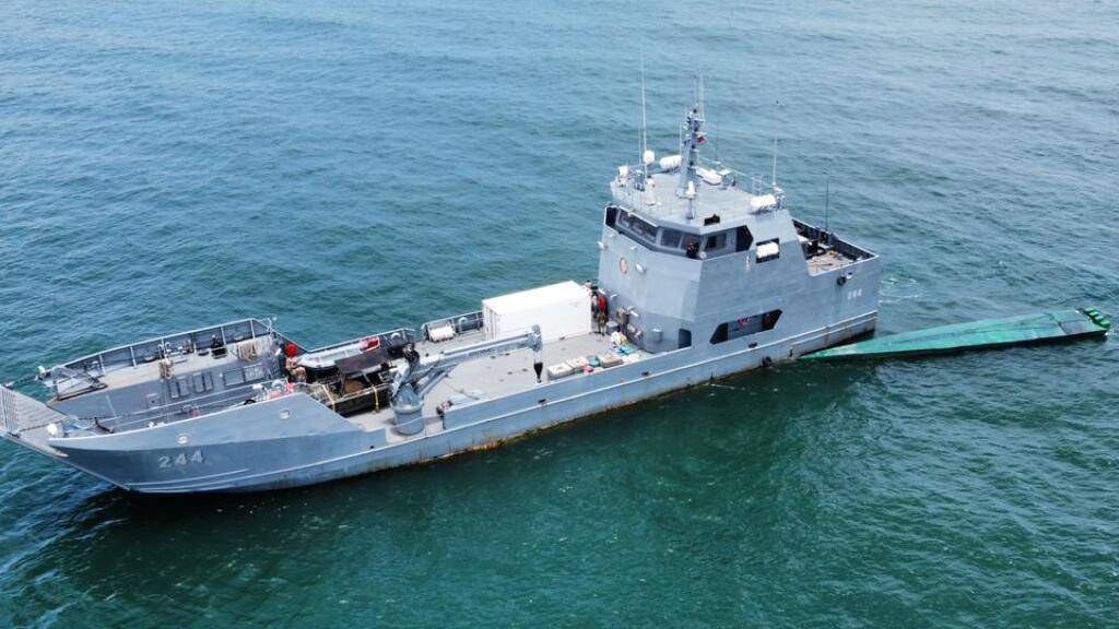 U-Boot mit fast zwei Tonnen Kokain vor Kolumbien gestoppt
