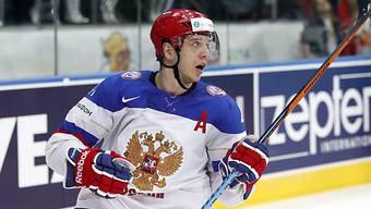 Nikolai Kuljomin reihte sich unter die Torschützen der Russen ein