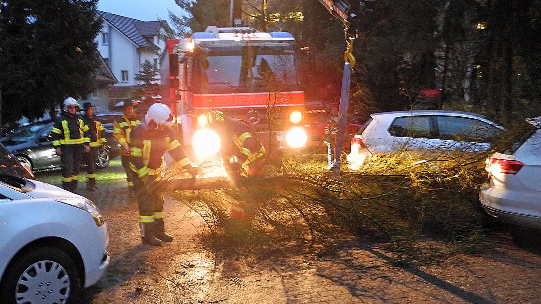 Sturm fegt mit 150 km/h durch die Schweiz