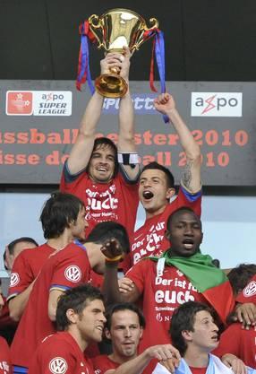 FC Basel ist Schweizer Meister