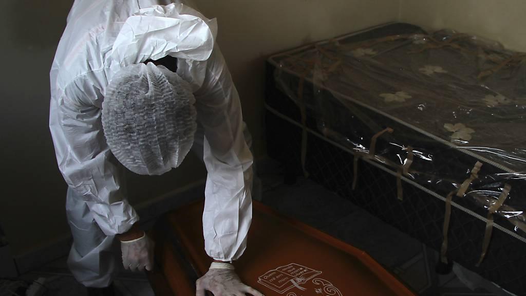 Brasilien meldet Tagesrekord an Corona-Toten