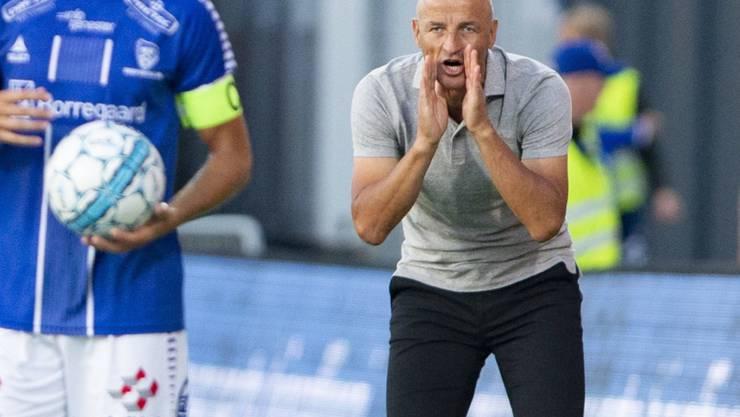 Peter Zeidlers Anweisungen kommen beim FC St. Gallen noch nicht richtig an
