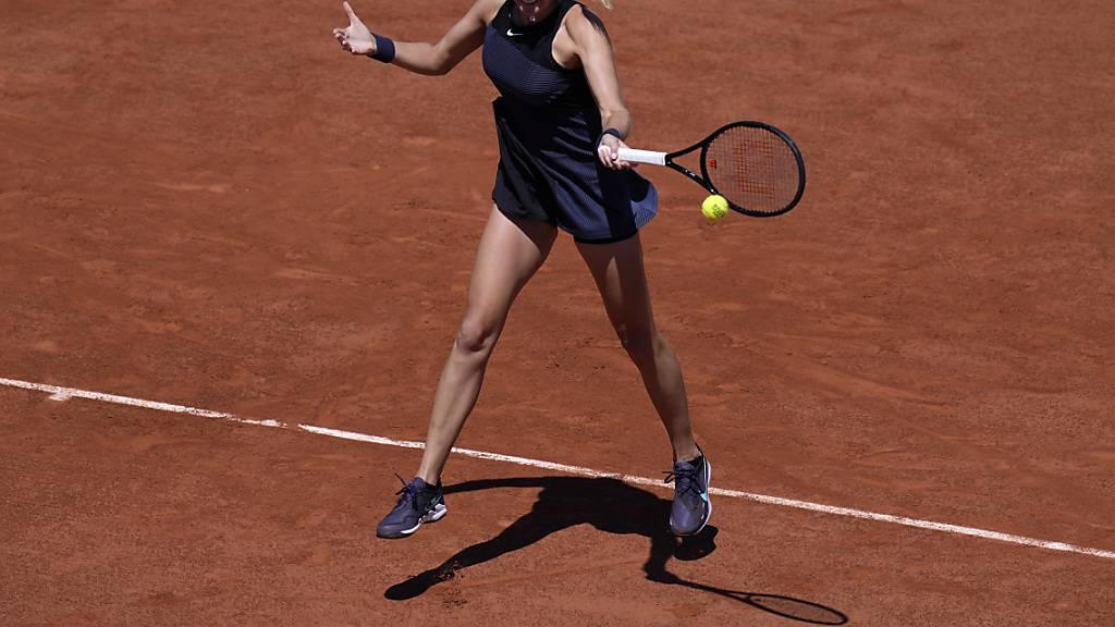 Petra Kvitova kann zu ihrem Zweitrunden-Match in Paris nicht antreten