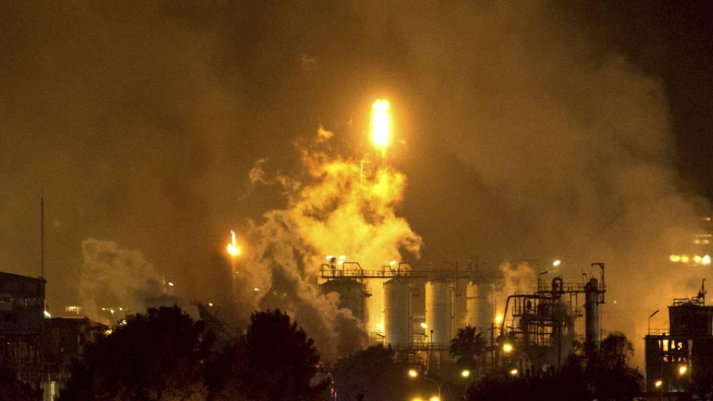 Ein Toter bei Explosion in spanischer Chemiefabrik