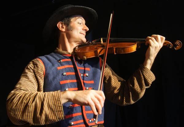 Christian Strässle an der Violine