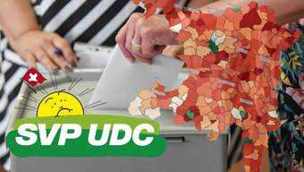 Die SVP hat auch im Aargau Wähleranteile eingebüsst.