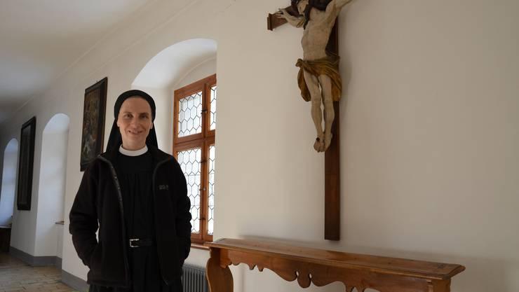 Schwester Marianne lebt seit 17 Jahren im Kloster Fahr, jenem Ort, der auch vielen Teilnehmern der Glaubenskurse eine Heimat geworden ist.