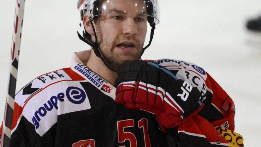 Spielte 2012 bereits einmal erfolgreich bei Fribourg-Gottéron: der Kanadier David Desharnais