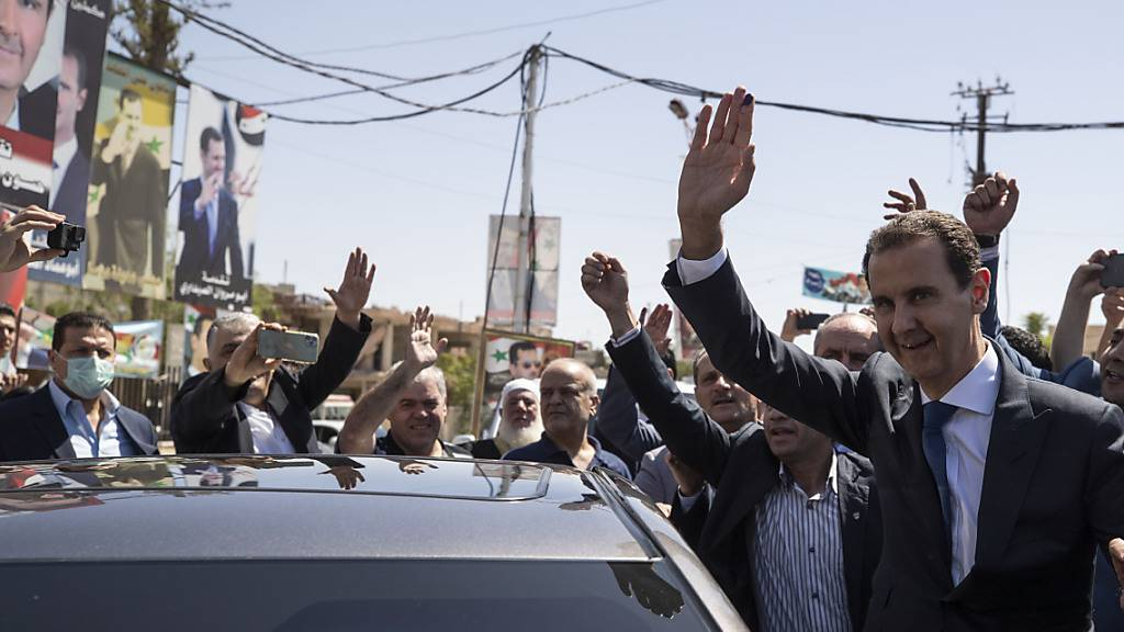 Syriens Machthaber Assad erhält bei Präsidentenwahl 95 Prozent