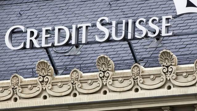 Das Logo der Credit Suisse (Archiv)