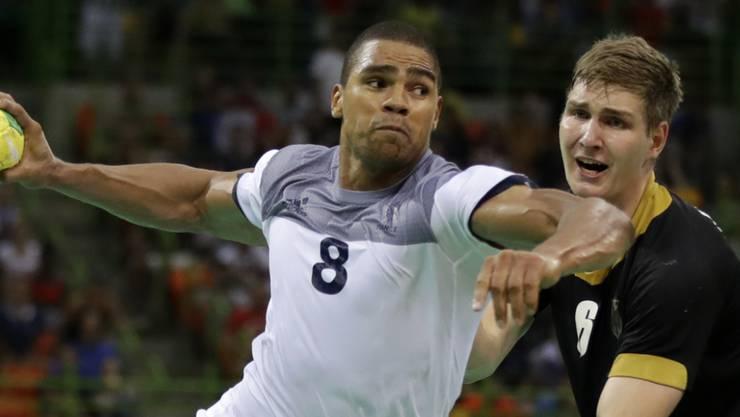 Schuss ins Glück: Daniel Narcisse schoss Frankreich zwei Sekunden vor Schluss in den Final
