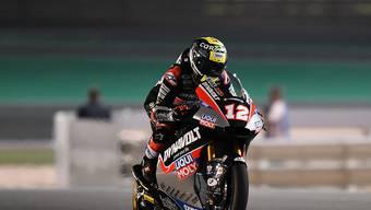 Zurück in der Moto2 und zurück auf dem Podest: Tom Lüthi