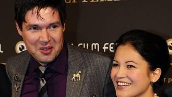 Sennentuntschi-Regisseur Michael Steiner mit seiner Frau Minerva am Zurich Film Festival.