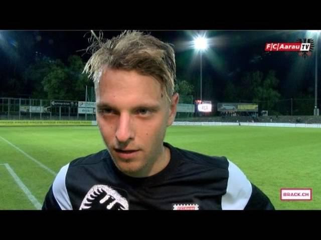 Nach der Partie FC Aarau - FC Lausanne-Sport: Interviews mit Olivier Jäckle und mit Cheftrainer Marco Schällibaum