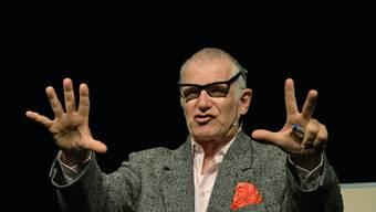 Joachim Rittmeyer im Kleintheater Luzern.