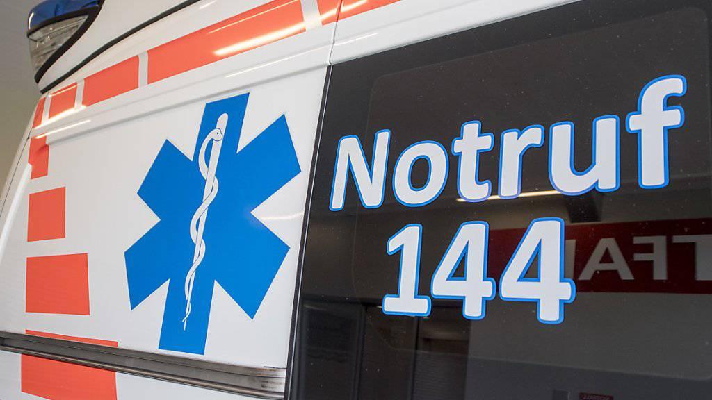Ein Unfall auf der Autobahn A1 in Mägenwil AG hat am Samstag kurz vor Mittag neun Verletzte gefordert. (Symbolbild)