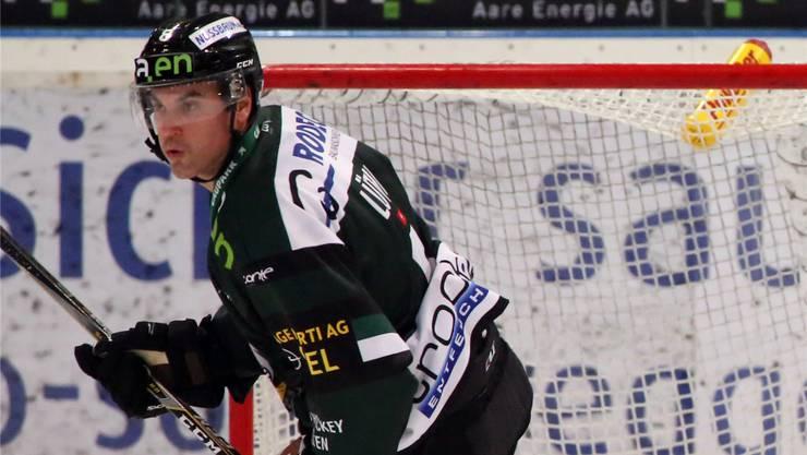 Simon Lüthi im EHCO-Dress.