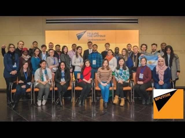 Sputnik Journalism Workshop 2016, Moscow - Russia | New Generation