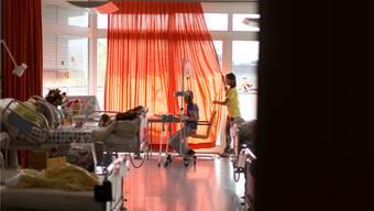 Am Kinderspital in Zürich befindet sich eines von vier Herzzentren für Kinder in der Schweiz. Gaetan Bally/Keystone