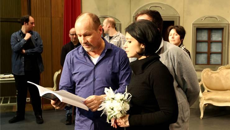 Annäherung an den «Bettelstudenten»: Regisseur Thomas Mittmann und Luisa Albrechtova.