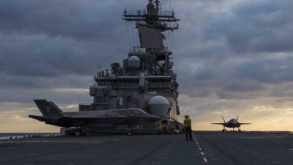 USA verlegen Kriegsschiff in Nahen Osten