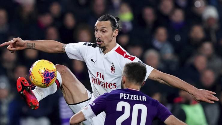 Gross, grösser, Zlatan Ibrahimovic.
